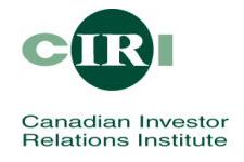 Canadian Investment Relations Institute